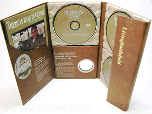 unique dvd packaging tall recycled digipak